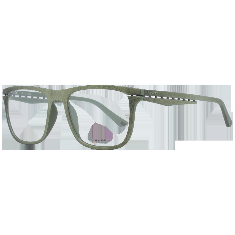 Police Optical Frame VPL485 0GGP 53 Green