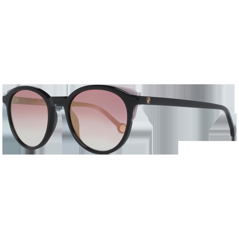 Carolina Herrera Sunglasses SHE742 700G 50 Black