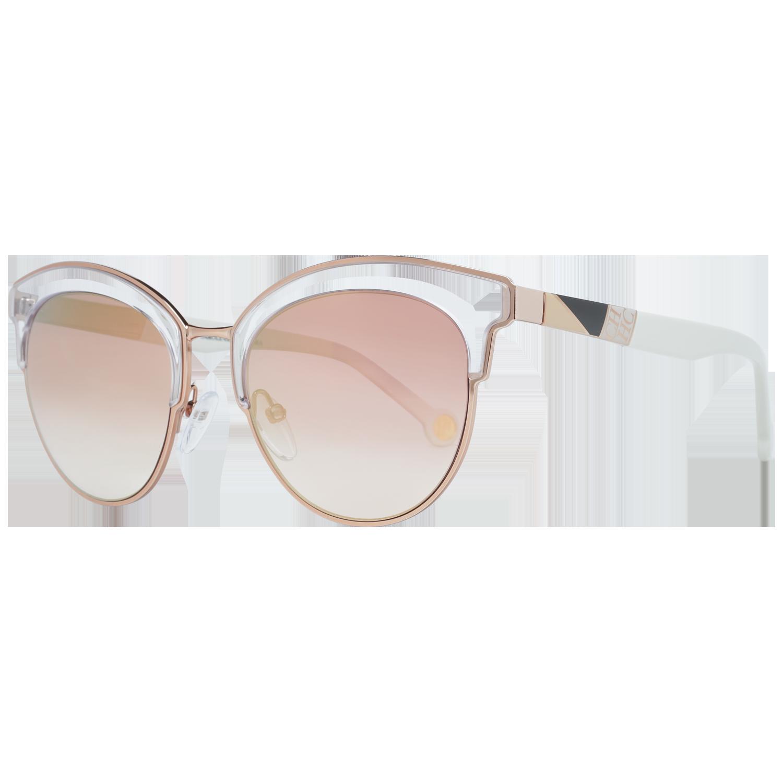 Carolina Herrera Sunglasses SHE101 08MZ 52 Rose Gold