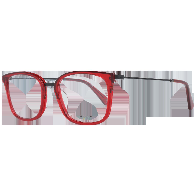 Police Optical Frame VPL561 0L00 51 Red