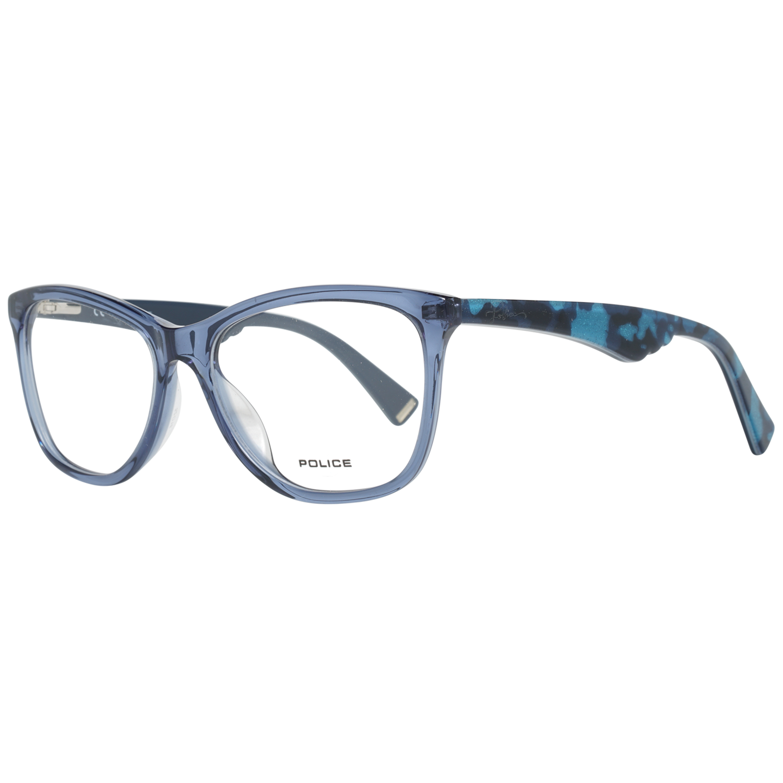 Police Optical Frame VPL760 0955 52 Blue