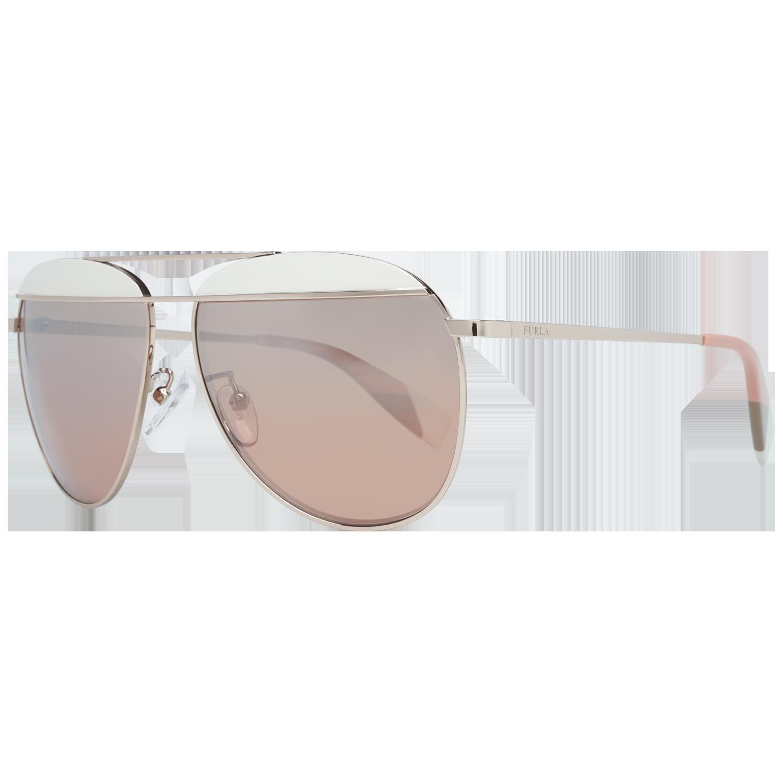 Furla Sunglasses SFU236 0SCG 59 Rose Gold