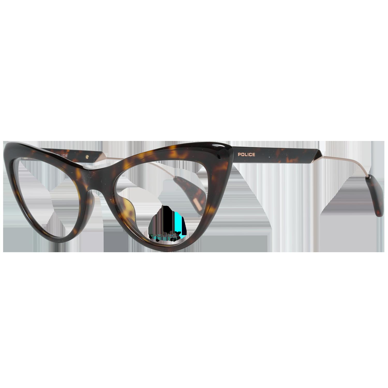 Police Optical Frame VPL855 722G 50 Brown