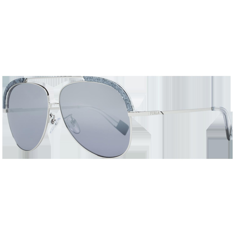 Furla Sunglasses SFU284 579X 60 Silver