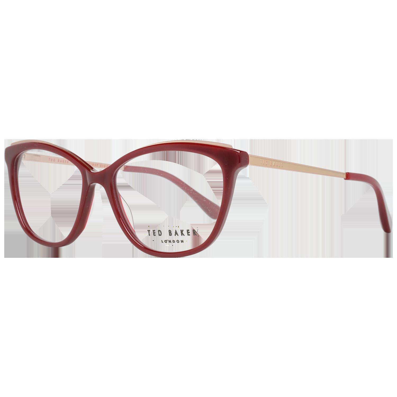Ted Baker Optical Frame TB9153 253 52 Burgundy