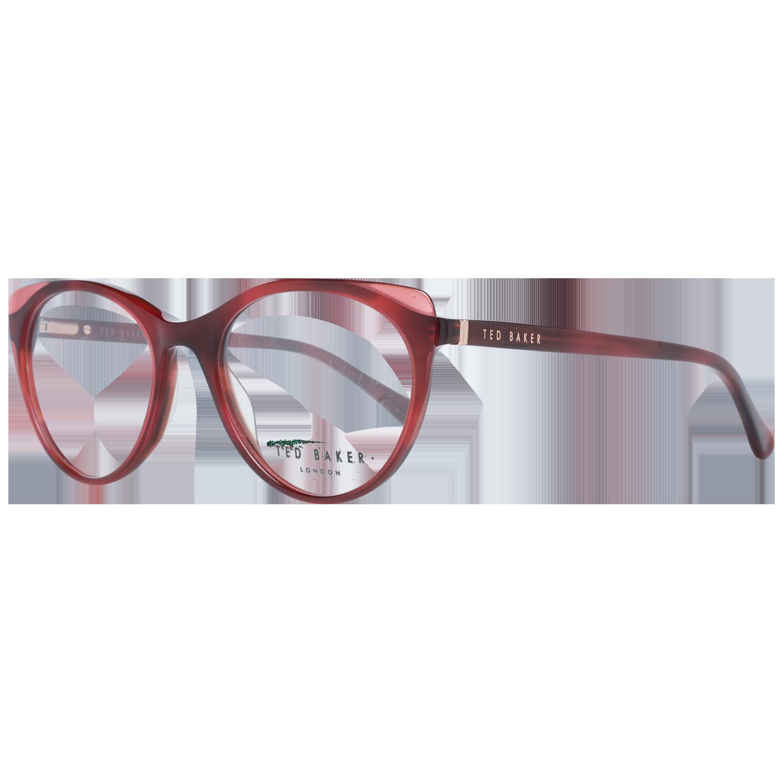 Ted Baker Optical Frame TB9175 249 50 Saissa Burgundy