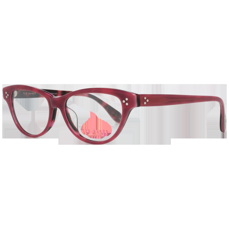 Ted Baker Optical Frame TB9055 284 52 Red