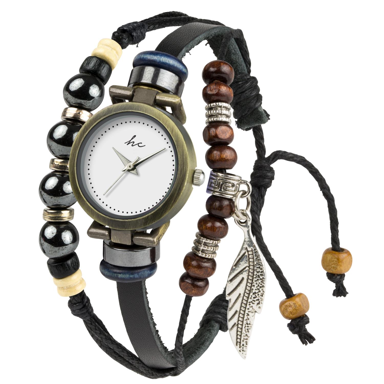 Hippie Chic Watch B-TI-HCLUNA Black