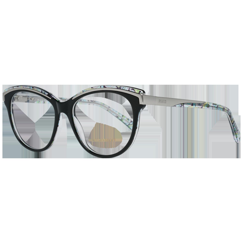 Emilio Pucci Optical Frame EP5038 001 53 Black