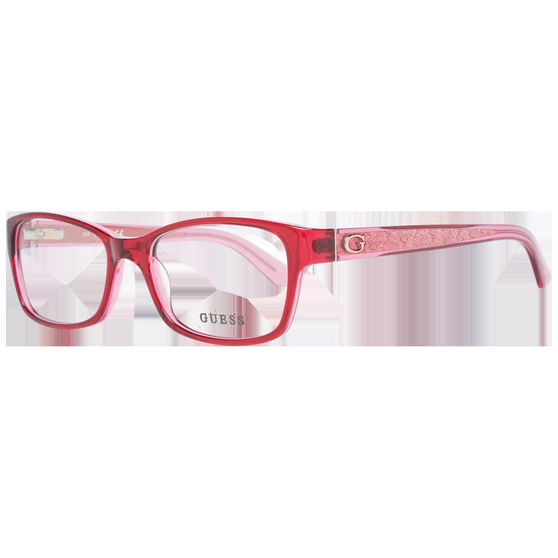Guess Optical Frame GU2591 074 53 Red