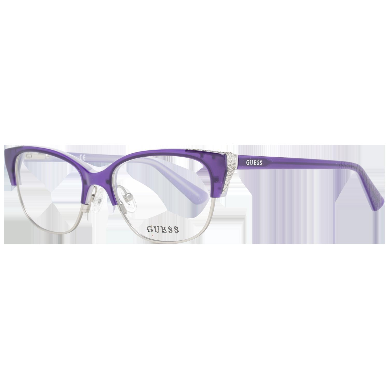 Guess Optical Frame GU2590 081 52 Purple