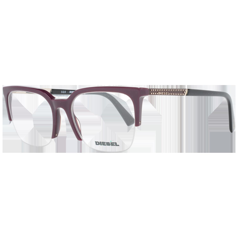Diesel Optical Frame DL5261 069 51 Burgundy