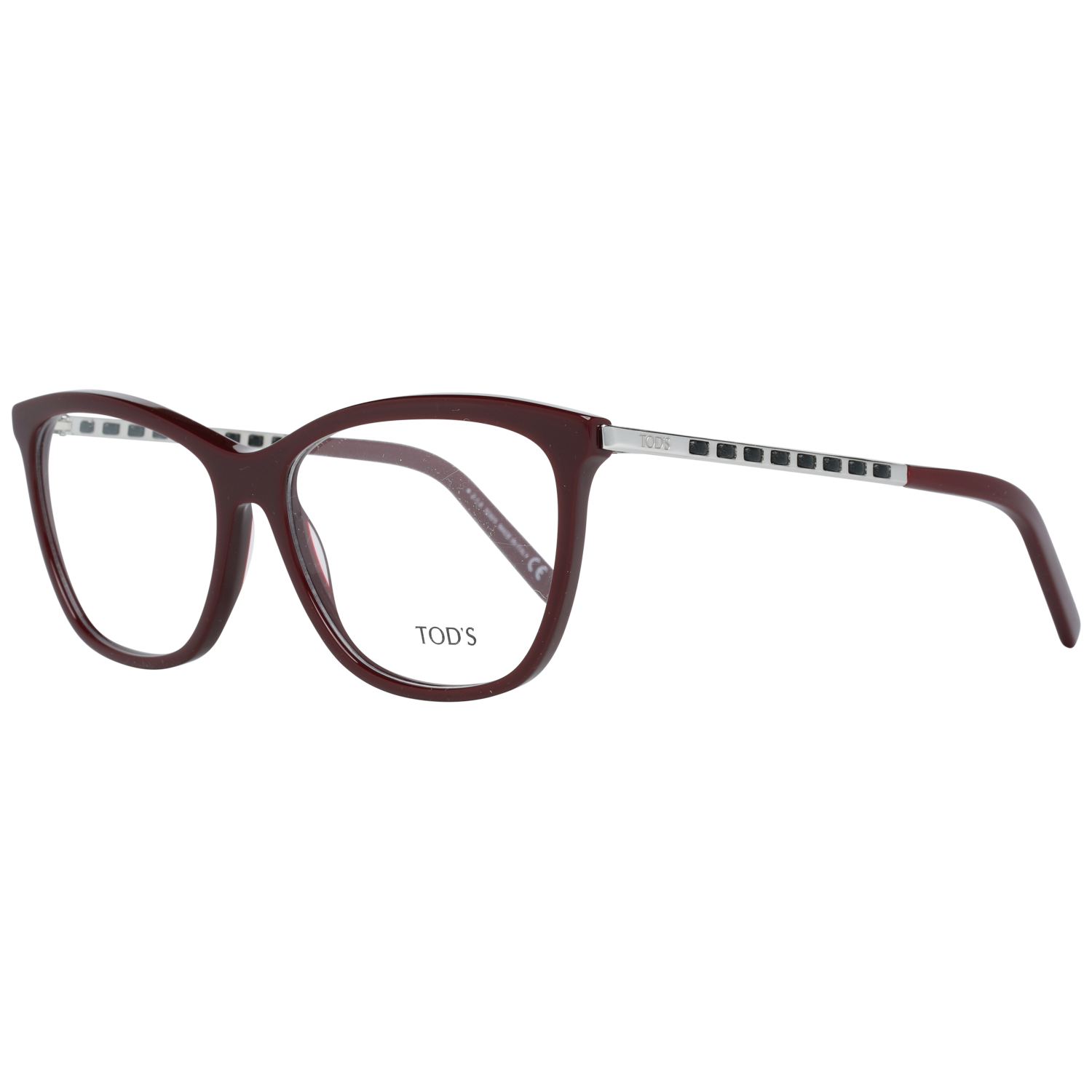 Tods Optical Frame TO5198 069 56 Burgundy