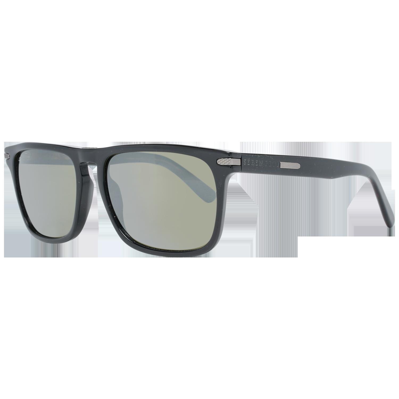 Serengeti Sunglasses 8325 Carlo 56 Shiny Black Black