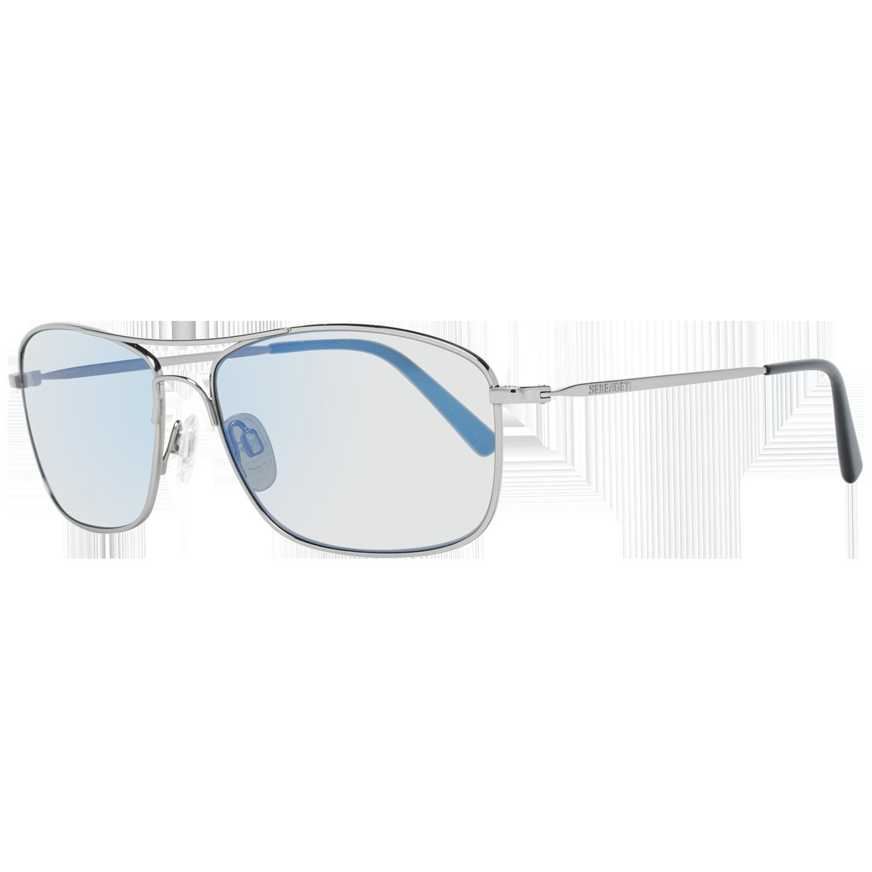 Serengeti Sunglasses 8418 Corleone 59 Shiny Silver Silver