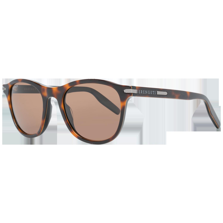 Serengeti Sunglasses 8464 Andrea 51 Shiny Dark Tortoise Brown