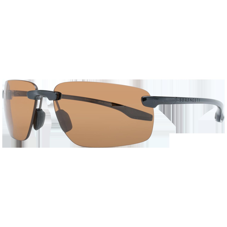 Serengeti Sunglasses 8500 Erice 64 Shiny Black Black