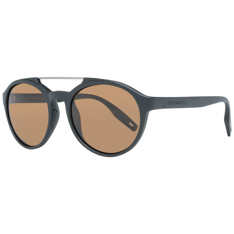 Serengeti Sunglasses 8592 Leandro 53 Matte Black Black