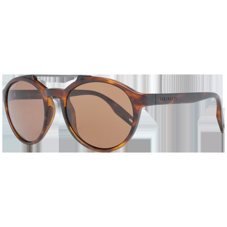 Serengeti Sunglasses 8595 Leandro 53 Matte Tortoise Brown