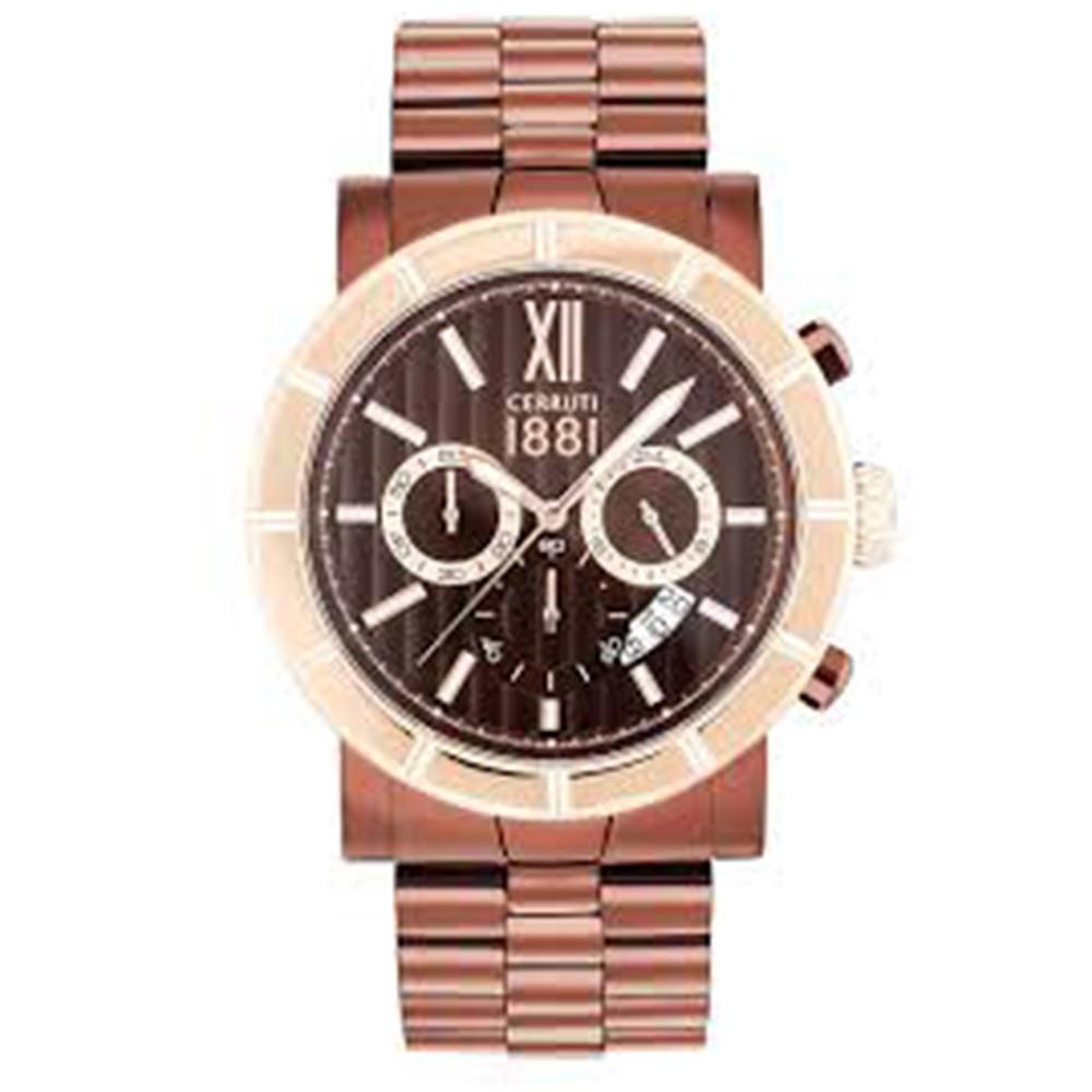 Cerruti 1881 Watch CRA142SBZR12MBZ Matese Copper