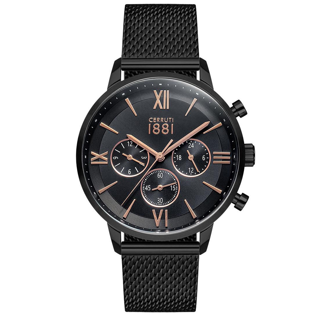Cerruti 1881 Watch CRA23406 Denno Black