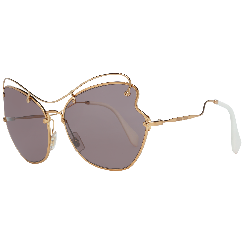Miu Miu Sunglasses MU56RS 7OE6X1 65 Rose Gold