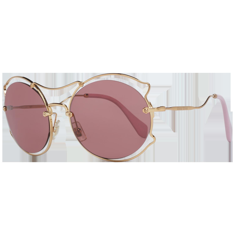 Miu Miu Sunglasses MU50SS 7OE0A0 57 Gold