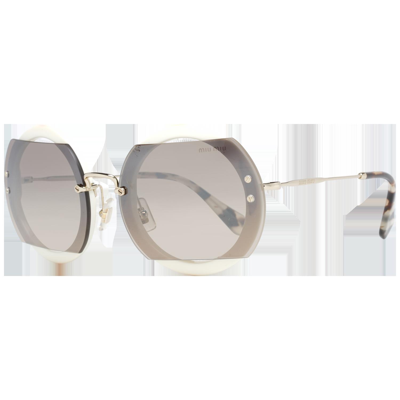 Miu Miu Sunglasses MU06SS VAG4P0 63 White