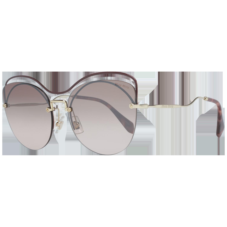 Miu Miu Sunglasses MU50TS R1JQZ9 60 Burgundy