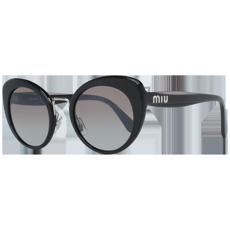 Miu Miu Sunglasses MU06TS 16E5O0 53 Black
