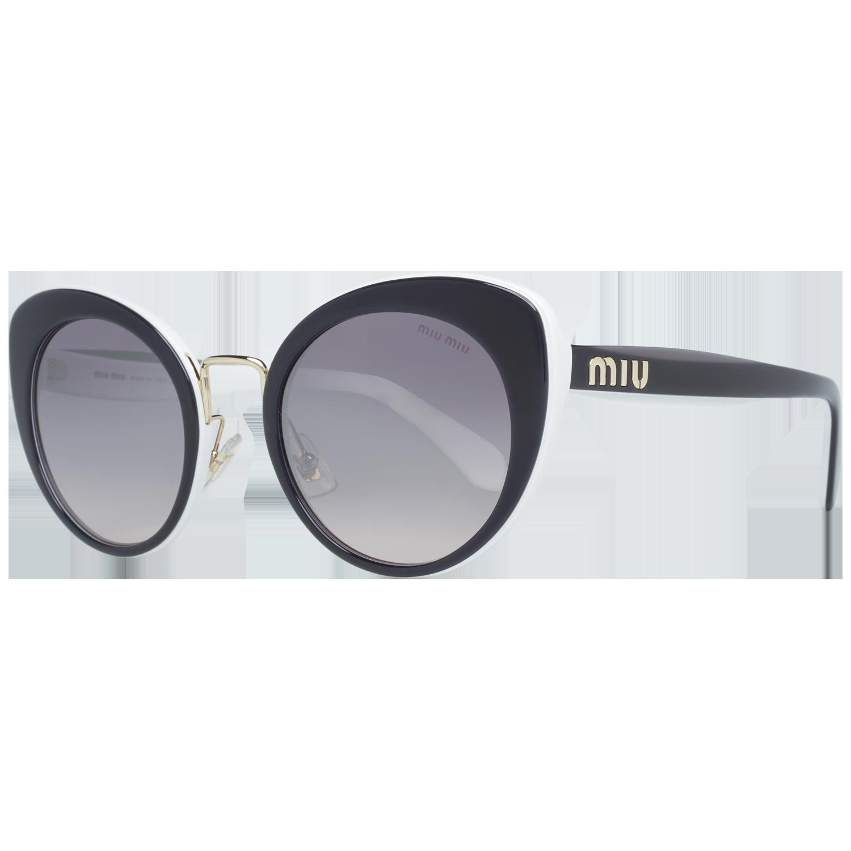 Miu Miu Sunglasses MU06TS J9XGR0 53 Black