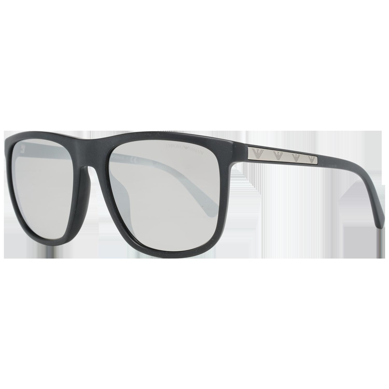 Emporio Armani Sunglasses EA4124F 50426G 57 Black