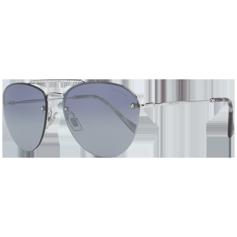 Miu Miu Sunglasses MU54US 1BC3A0 59 Silver