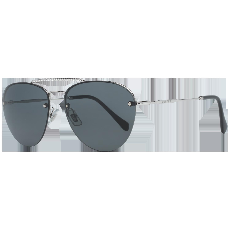 Miu Miu Sunglasses MU54US 1BC1A1 59 Silver