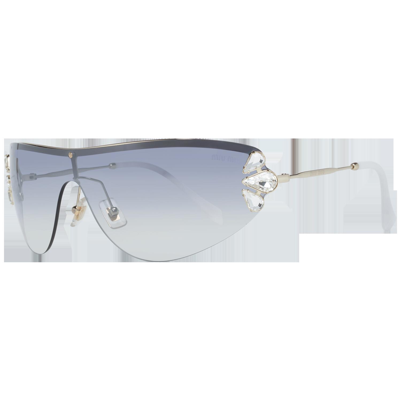 Miu Miu Sunglasses MU66US ZVN5R0 48 Silver