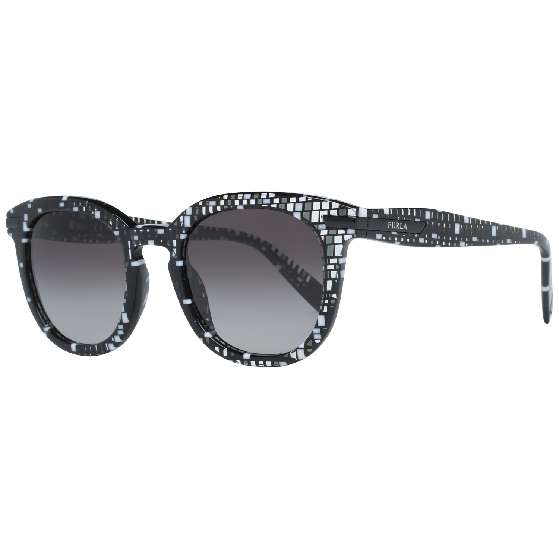 Furla Sunglasses SFU036 0GB1 49 Black