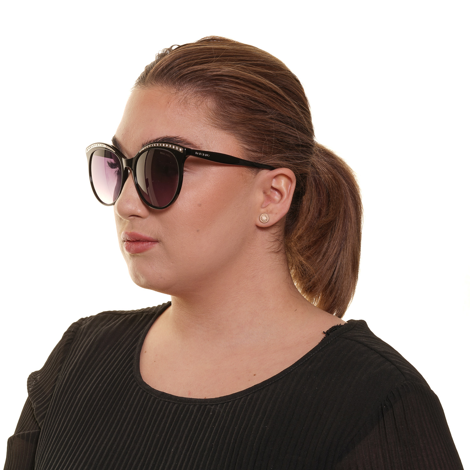 Guess By Marciano Sunglasses GM0794 01B 56 Black