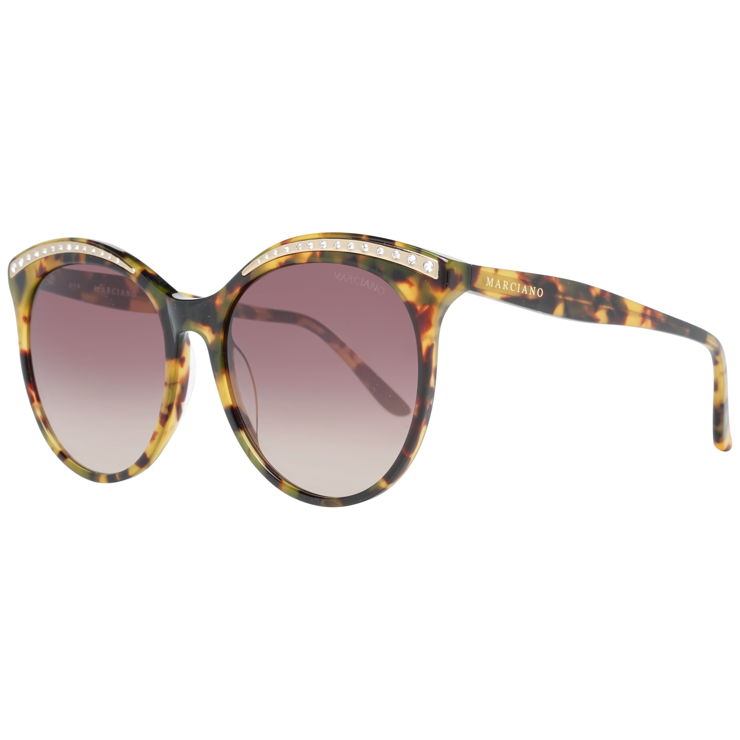 Guess By Marciano Sunglasses GM0794 53F 56 Brown