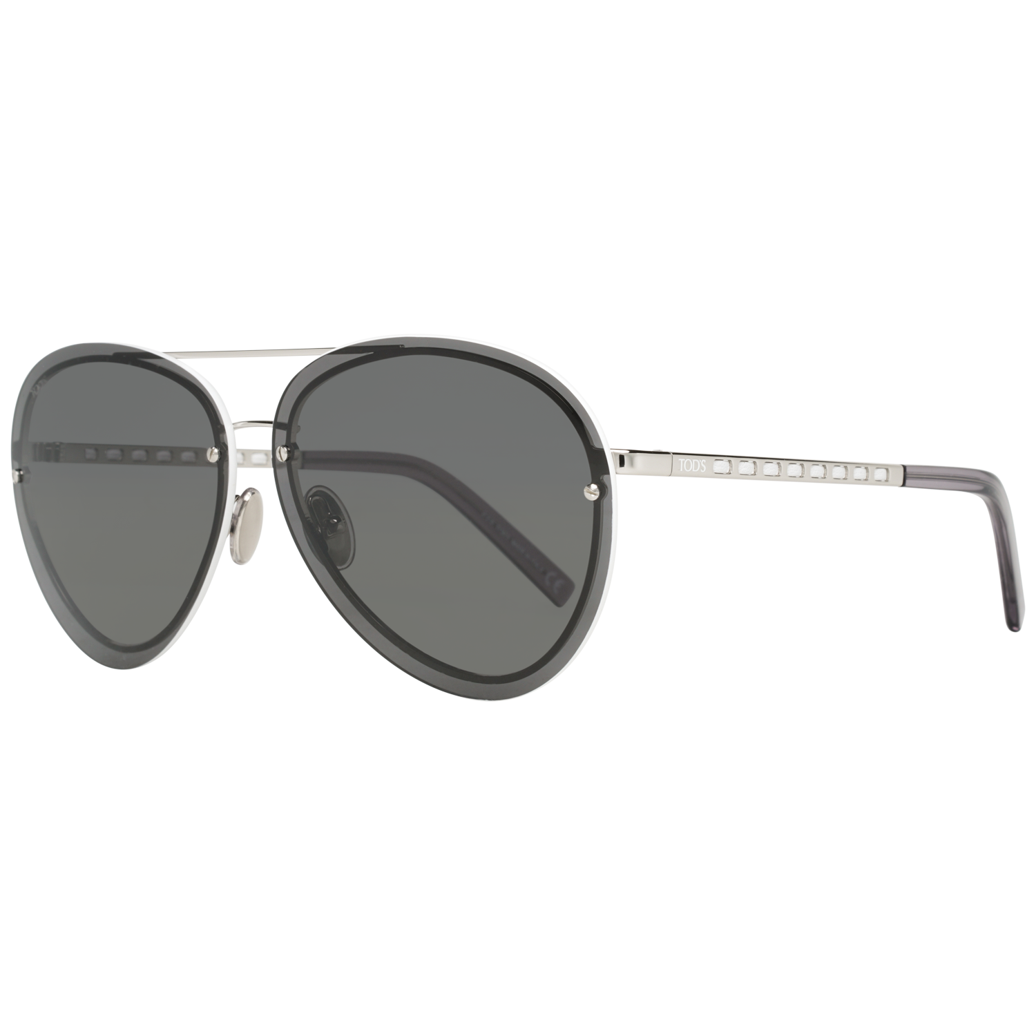 Tods Sunglasses TO0248 18A 63 Silver
