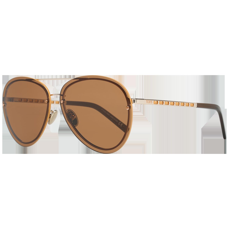 Tods Sunglasses TO0248 28E 63 Bronze