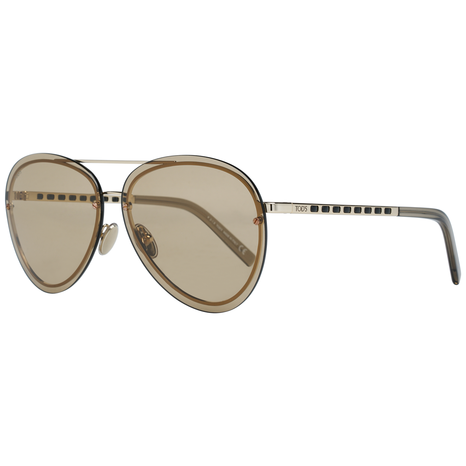 Tods Sunglasses TO0248 32E 63 Gold
