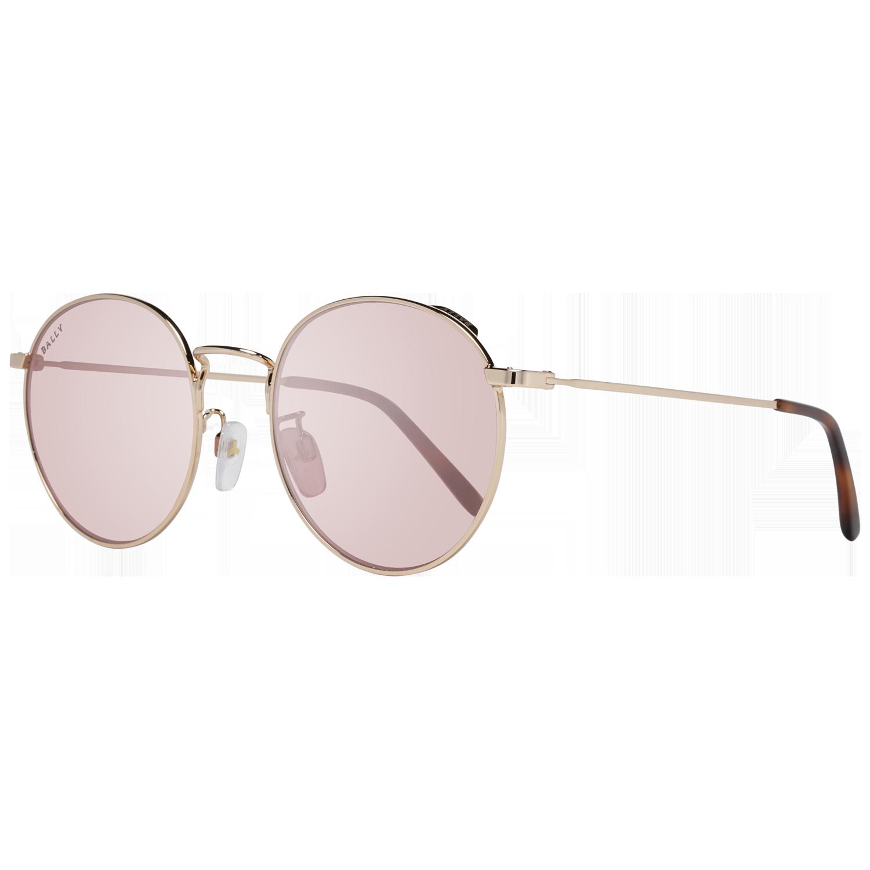 Bally Sunglasses BY0013-H 28Z 54 Rose Gold