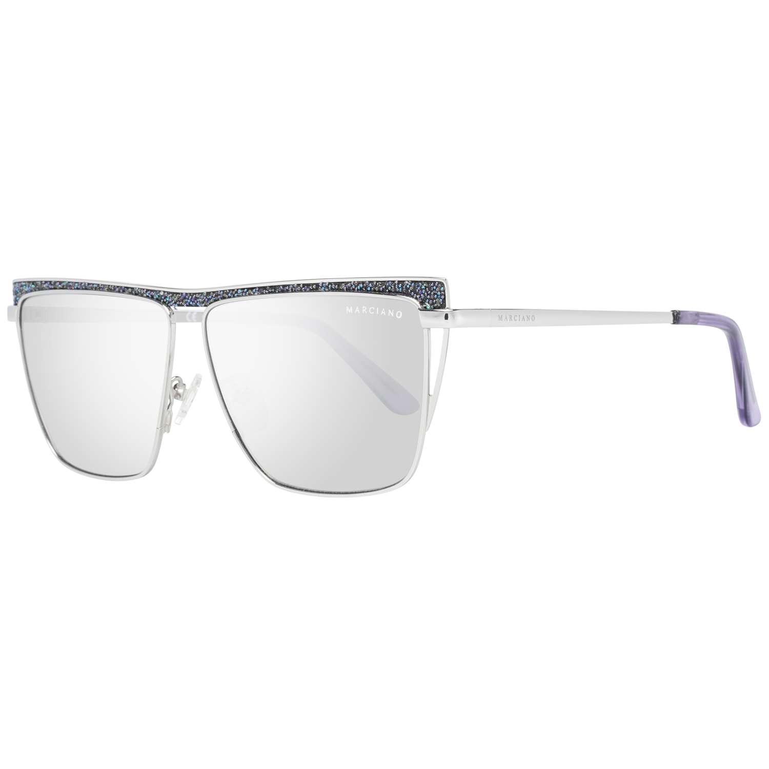 Guess by Marciano Sunglasses GM0797 10Z 57 Silver