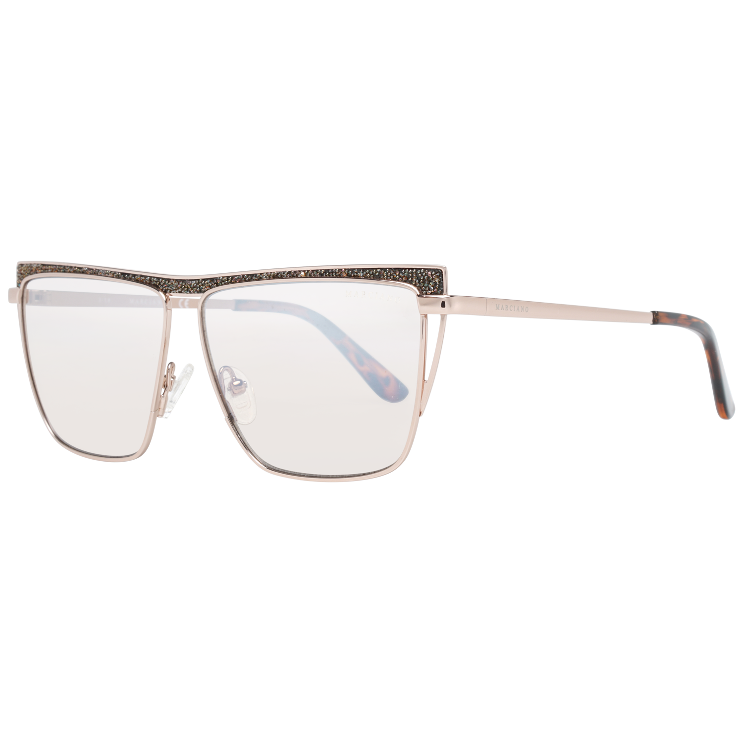 Guess by Marciano Sunglasses GM0797 28Z 57 Rose Gold