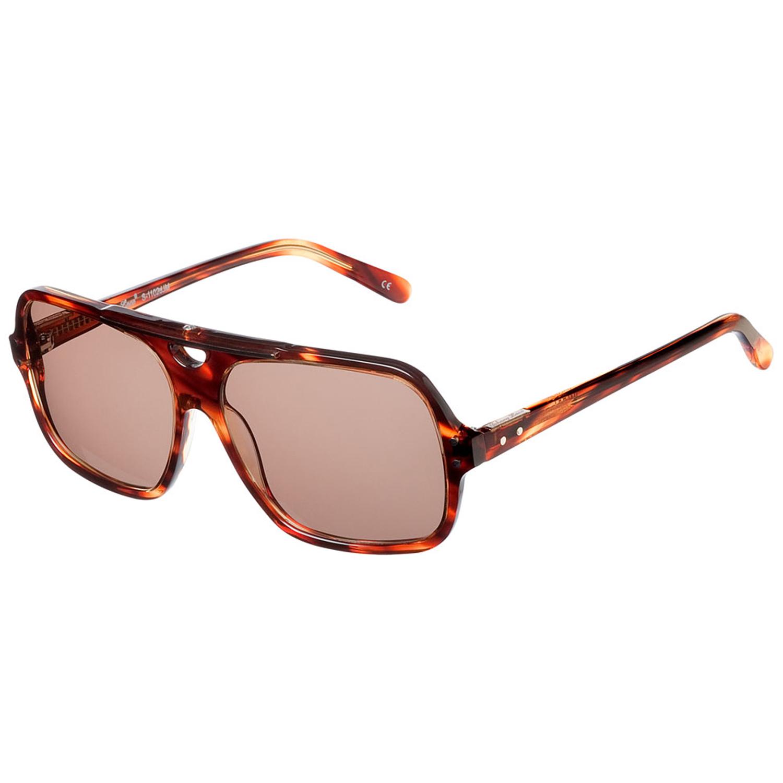 Johnny Loco Sunglasses S-1102 B6M 56 Biff Brown