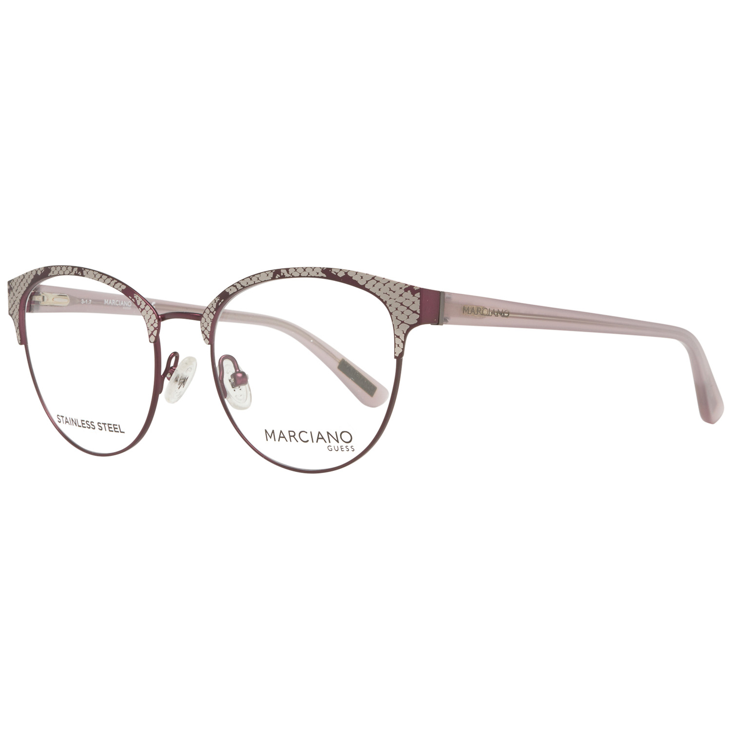 Guess by Marciano Optical Frame GM0317 082 50 Burgundy