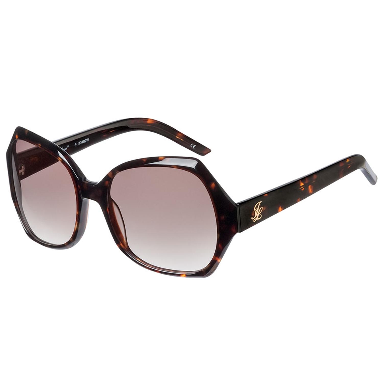 Johnny Loco Sunglasses S-1134 B2W 55 Lolita Brown