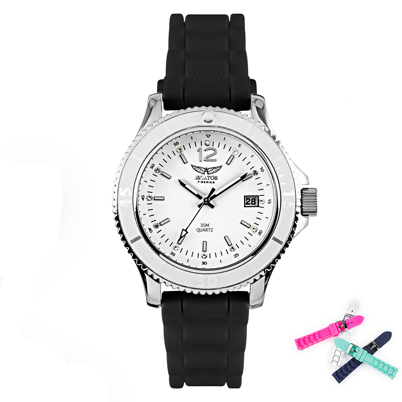 Aviator Watch AVX7502L32 Silver
