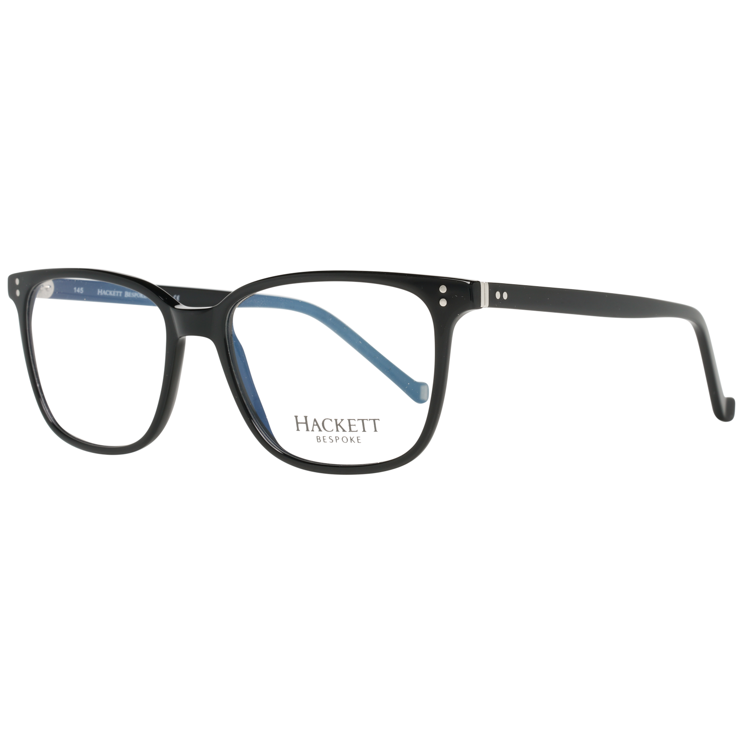 Hackett Bespoke Optical Frame HEB155 001 53 Black