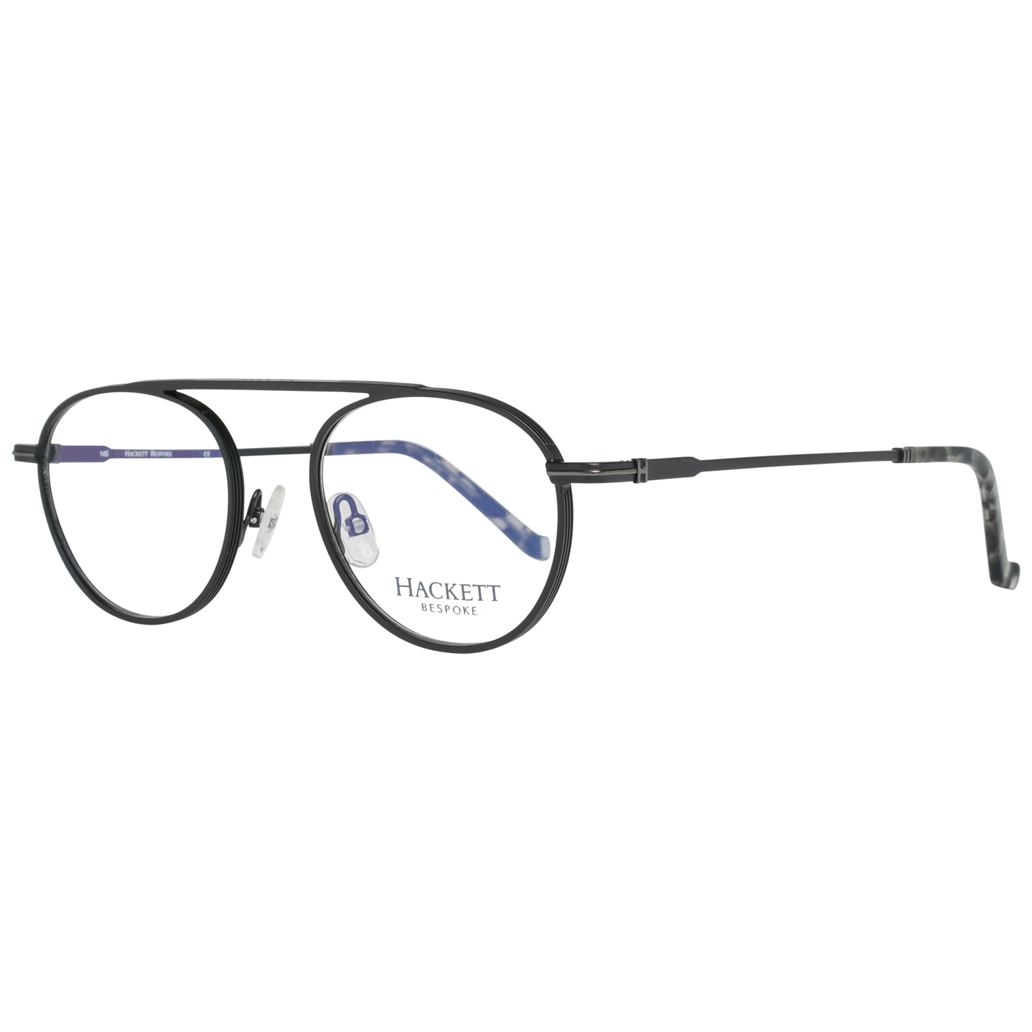 Hackett Bespoke Optical Frame HEB221 065 49 Gunmetal